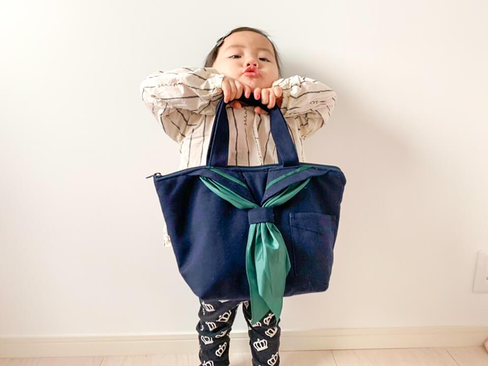 セーラー服を生かした「せーらん」は、「可愛い!」とママにも子どもたちにも好評